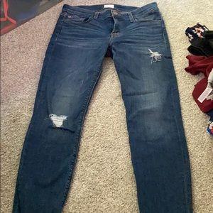 """Hudson """"Krista"""" super skinny crop jeans"""